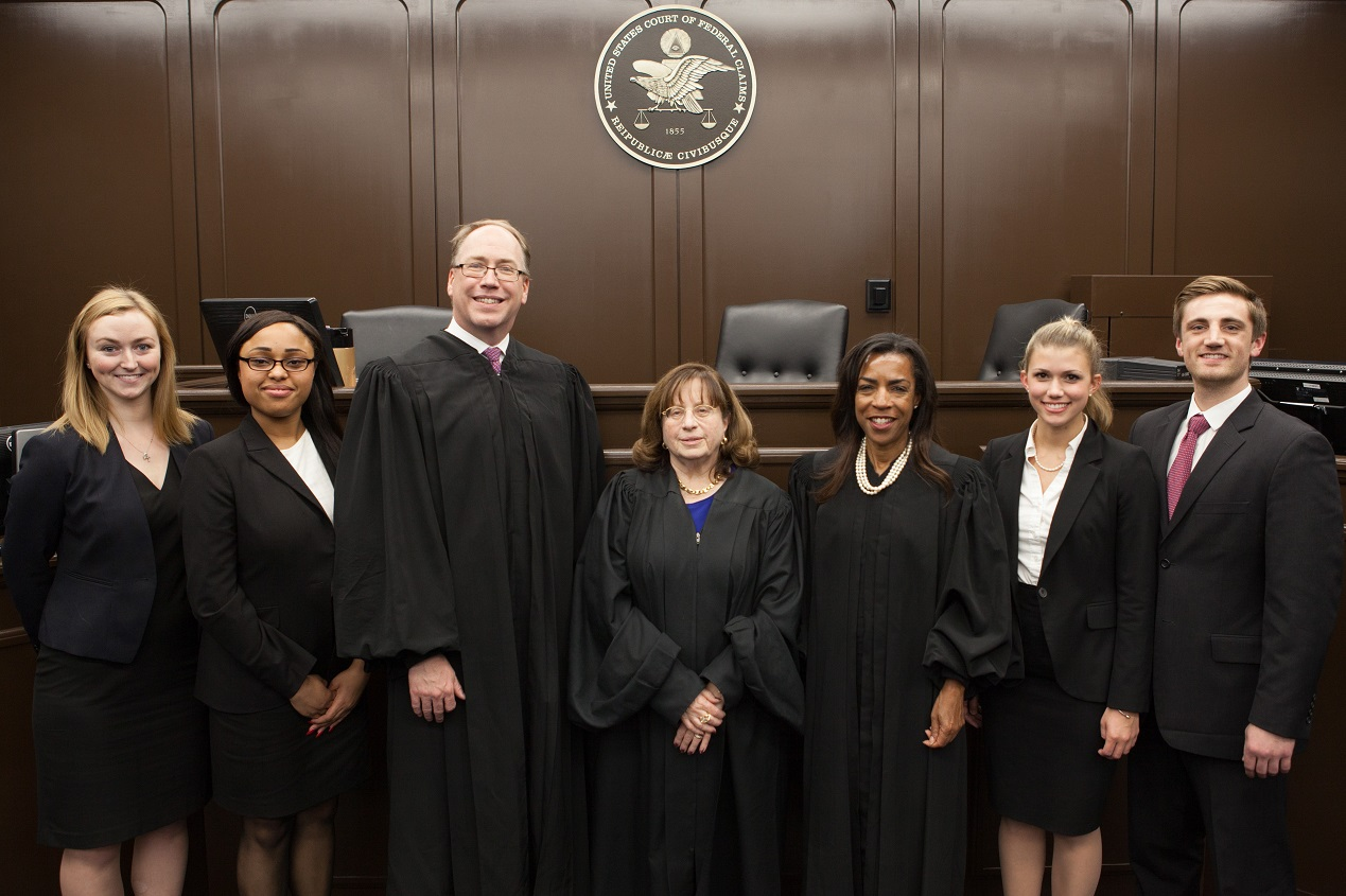 2016 moot court judges and finalists